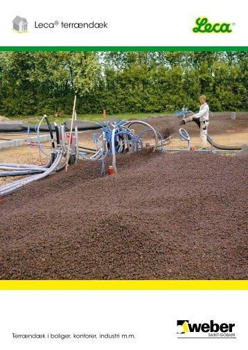 Brochure: Leca® terrændæk - Weber