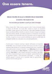 MILKA COLORA DI LILLA IL MONDO DELLO SNACKING