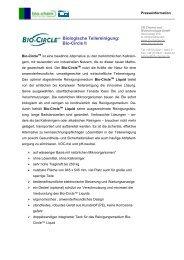 Biologische Teilereinigung: Bio-Circle II