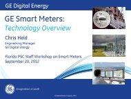 GE Smart Meters