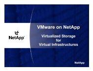 VMware on NetApp - VMware Communities