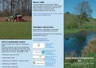 folder om naturbeskyttelseslovens § 3 - Tønder Kommune