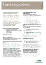 Registreringsordning - UDI