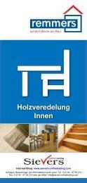 Produktflyer Remmers Treppen - Sievers-OnlineTrading