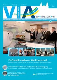 Ausgabe Nr. 1 / 2013 (4,6 MB) - St. Vincenz Krankenhaus Limburg
