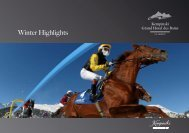 Winter Program (PDF) - Kempinski Hotels