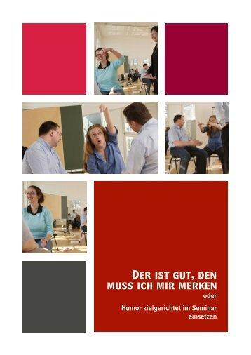 """Fachartikel """"Comedy im Seminar einsetzen"""" - WeiterbildungsProfis"""