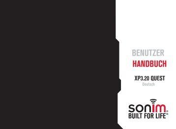 Benutzerhandbuch - Sonim Technologies