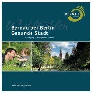 Gesunde Stadt - BeSt Bernau