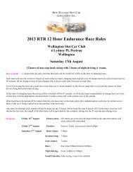 2013 RTR 12 Hour Endurance Race Rules Wellington Slot Car Club ...