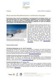 Winter zwischen Benediktinerkloster und Gletscher ... - Engelberg