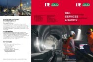 RAIL SERVICES & SAFETY - Rhomberg Bahntechnik