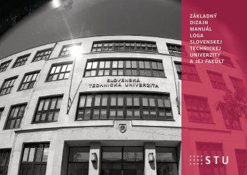 základný dizajn manuál loga slovenskej technickej univerzity a jej ...
