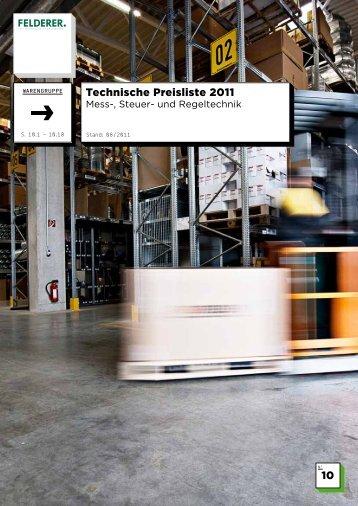 10 Technische Preisliste 2011 - Felderer