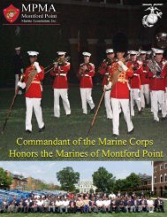 Montford Point Marines Honored at 8