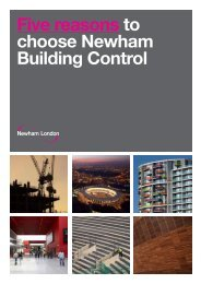 why you should choose Newham Building Control (PDF)