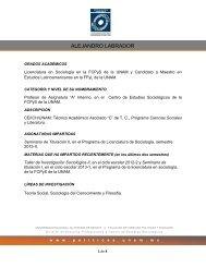GRADOS ACADÉMICOS - Facultad de Ciencias Políticas y Sociales ...
