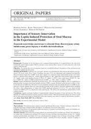 ORIGINAL PAPERS - Dental and Medical Problems