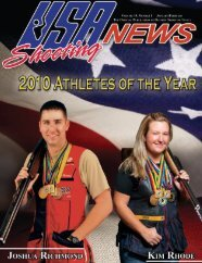 January/February 2011: Volume 19, Number 1 - USA Shooting