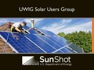 DOE Solar Grid Integration Program and SEGIS-AC Awards