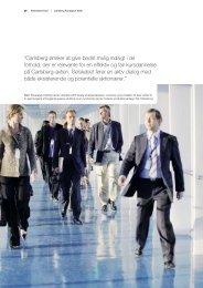 """""""Carlsberg ønsker at give bedst mulig indsigt i de ... - Carlsberg Group"""
