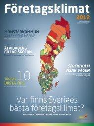 Var finns Sveriges bästa företagsklimat? - Bjurholm kommun