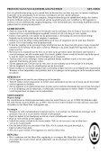 VACUUM CLEANER BLACK PANTHER II - Princess - Page 4