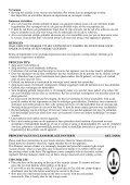 VACUUM CLEANER BLACK PANTHER II - Princess - Page 5