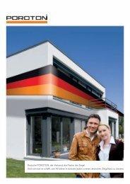 Deutsche POROTON: der Verband, die Marke, die ... - EnEV-Service