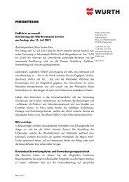 Nähere Informationen zum Karrieretag am 13. Juli 2012.