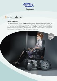 Invacare - Better Mobility