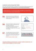 Kurzanleitung zur Vodafone DSL-EasyBox 602 (3.5 MB) - Arcor - Page 4