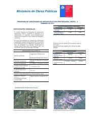 Ministerio de Obras Públicas - Coordinación de Concesiones de ...