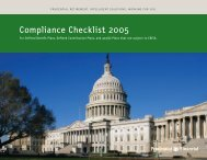 Compliance Checklist 2005 - Prudential