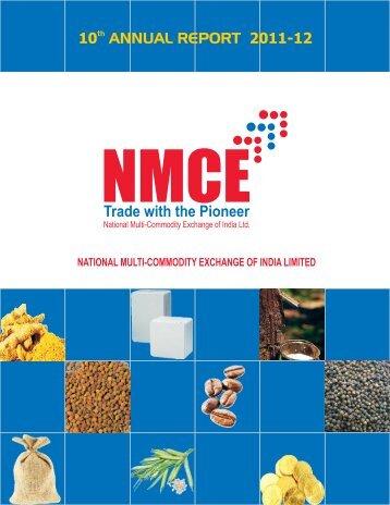 Annual Report 2011-12 - Nmce.com