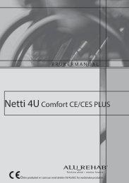 User Manual Netti 4U comfort CE PLUS - Alu Rehab