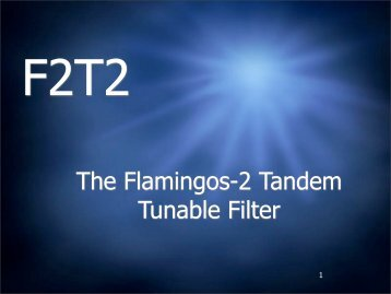 The Flamingos-2 Tandem Tunable Filter