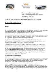 Antrag 03/2012 - CDU Kastel