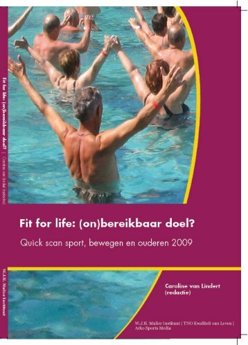 20091112 Rapport_Fit for live.indd - Sport Knowhow XL
