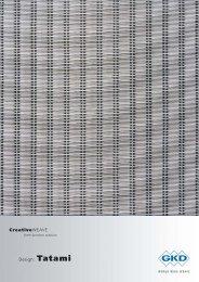 Design: Tatami CreativeWEAVE - E. Pfister & Cie AG