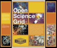 The Open Science Grid is a national distrib - Supercomputing ...