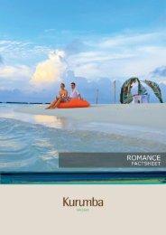 Romance Factsheet - Kurumba Maldives