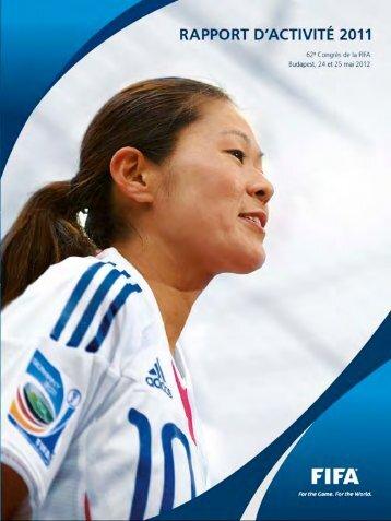 Rapport d'activité 2011 (Annexe A) - FIFA.com