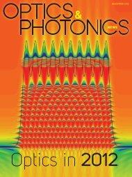 Optics & Photonics News - OFS