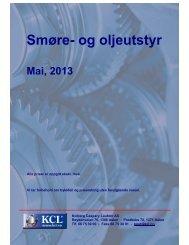 Smøre- og oljeutstyr - Kolberg Caspary Lautom AS