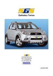 Daihatsu Terios - SGS