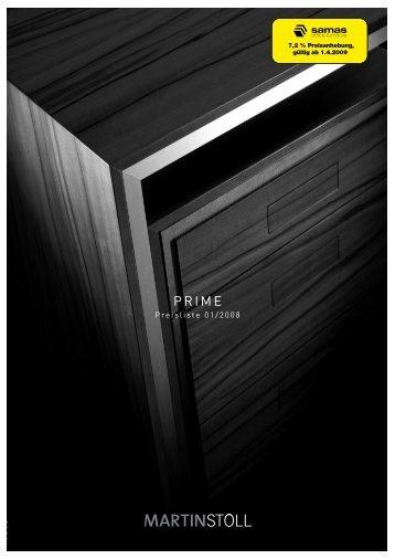Preisliste 01/2008