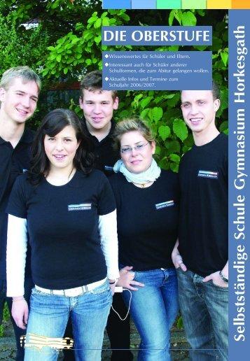 Titel Oberstufe.qxd - Gymnasium Horkesgath