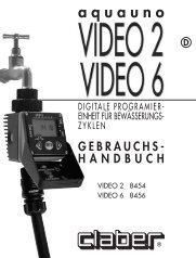 Bedienungsanleitung Video 2