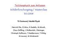 1 fm - Fakultät Physik - TU Dortmund